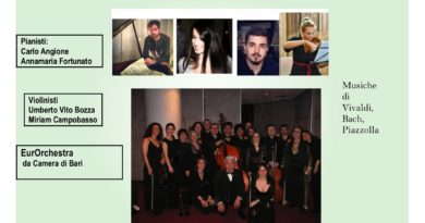 Secondo Concerto del Piano Festival San Nicola