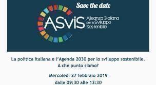 La politica italiana e l'Agenda 2030 per lo sviluppo sostenibile
