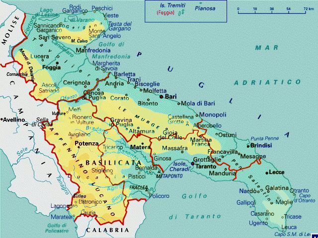 Cartina Della Puglia Turistica.Nasce La Nuova Rubrica Sulle Strade Della Puglia E Della