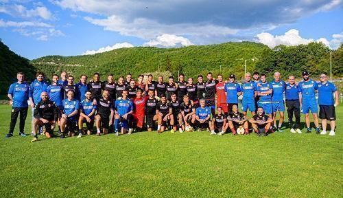 10/09/2020 Per il Bari una squadra di quartiere per la Coppa Italia, il Trastevere. Candellone e D'O IMG-20200908-WA0009
