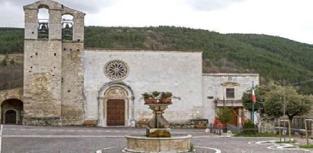 La chiesa di Assergi